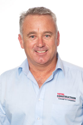 Total Construction Steve Taylor Managing Director